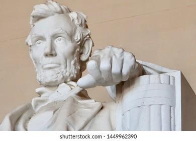 ABRAHAM LINCOLN - Lincoln Memorial - Washington DC