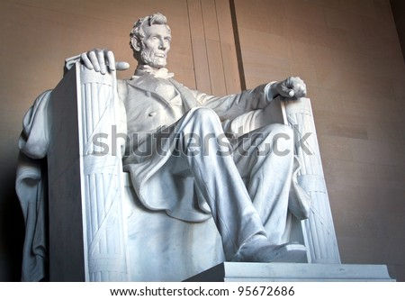 Abraham Lincoln monument in