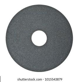Abrasive circle isolated on white background