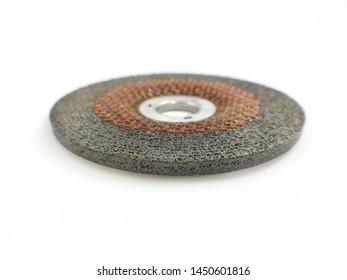 Abrasive grinding disks for metal