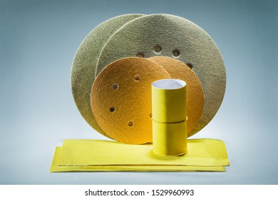 abrasive treatment tools sandpaper and sanding discs