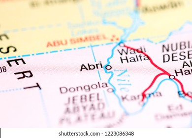 Abri. Africa on a map