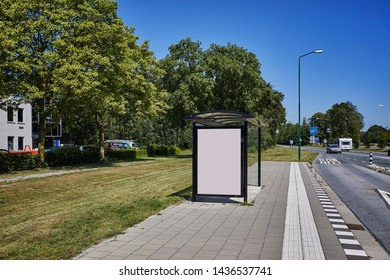 Abri placeholder poster A0 Dutch road busstop
