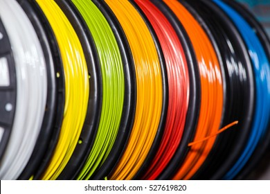ABS wire plastic for 3d printer of different colors