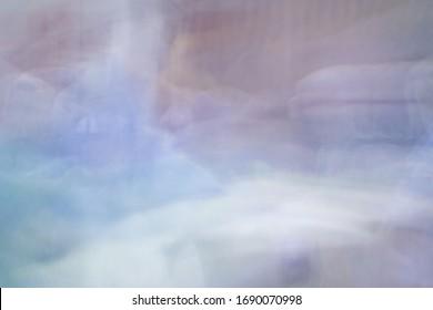 Absract blurred  bright background wallpaper showing dreamlike impressionist scene