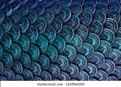 abstact black blue scale texture background scale