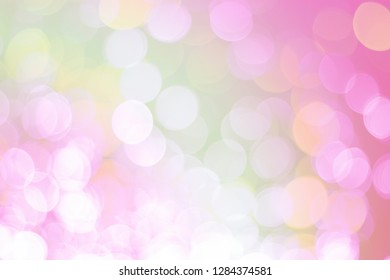 Abstrac white bokeh and colour pink background.