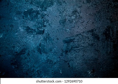 abstrack dark blue Plaster concrete texture, stone surface for postcard, copy space