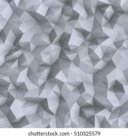 Abstract 3d background with polygonal pattern