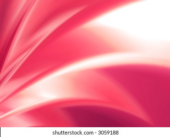 Abstract 3d background with soft forms and color gradients