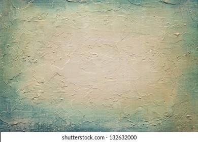Abstract acrylic texture on canvas