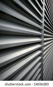 Abstract Aluminum Ventilation Grating