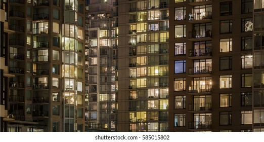 Abstract Apartment Buildings