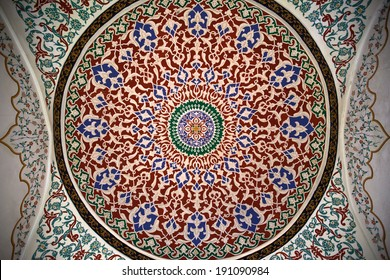 Abstract Arabian Dome Ceiling
