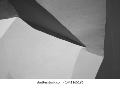 Abstract architecture background, abstract lines on architecture