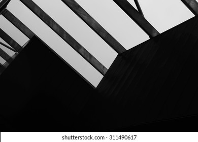Abstract Architecture Black & White