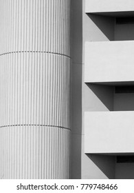 abstract architecture detail of building, minimalism style