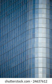 Abstract architecture details, high-rise modern building