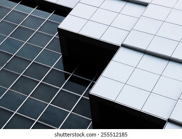 abstract architecture of a modern building
