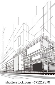 Abstract Architecture Plan