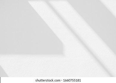 Abstract architecture shadow and lights in office room  on white wall  from window, dark shadows indoor in house  background, monochrome, black and white - Shutterstock ID 1660755181