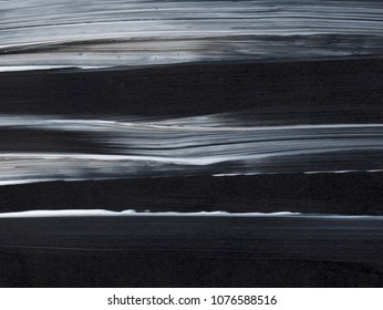 Abstract art background. Acrylic on canvas. Dark colors. Soft brushstrokes of paint. Modern art. Contemporary art.