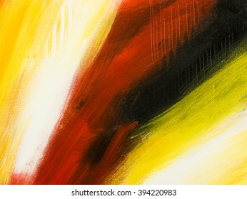 Abstract art background. Hand drawn acrylic painting. Creative background with abstract acrylic painting. Fragment of artwork.  Brushstrokes of paint. Modern art. Contemporary art.