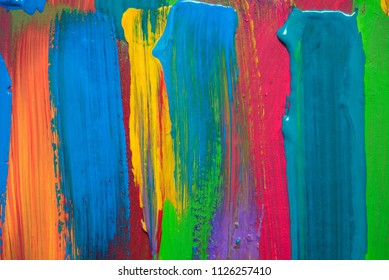 Abstract art background. Hand-painted.