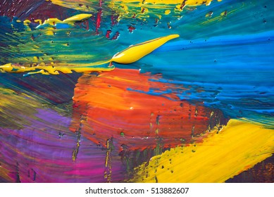 Abstract art background. Hand-painted