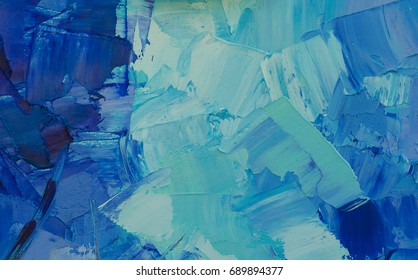 Abstract art background. Self made oil texture