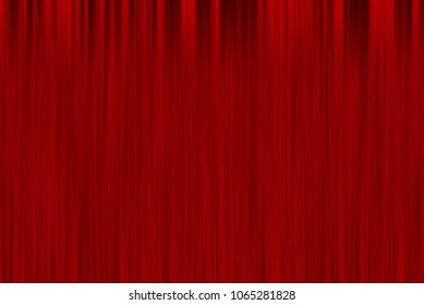 Abstract art blurred red curtain background.