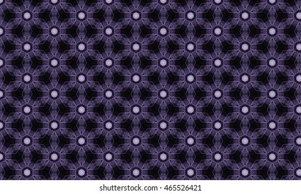 Abstract art classic luxury and elegant style pattern background in popular modern design trend 2016 for print on card paper fabric poster carpet and book cover, Raster type in black and purple tone