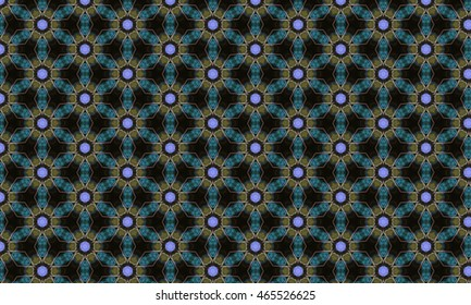 Abstract art classic luxury and elegant style pattern background in popular modern design trend 2016 for print on card paper fabric poster carpet and book cover, Raster type in colorful tone