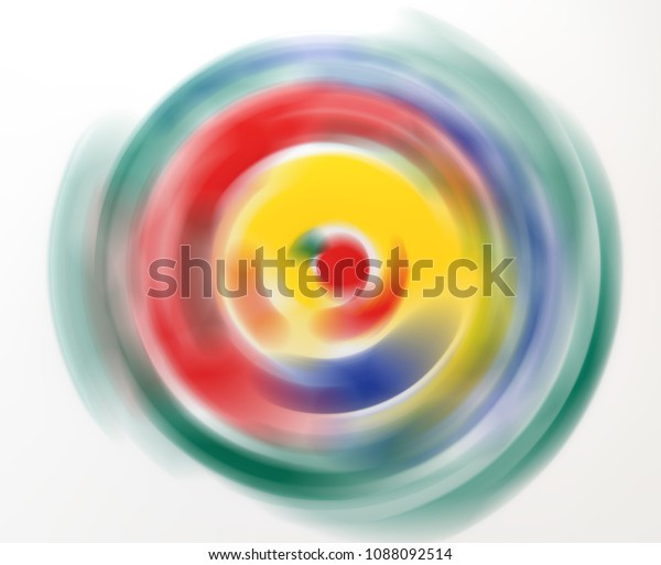 Abstract Art Movement Colors Motion Blur Stock Photo Edit