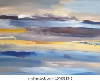 Abstract Art Painting background. Modern art. Contemporary art