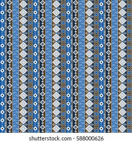 Abstract art seamless pattern, colorful ethnic pattern.Distressed texture, wallpaper, wrapping.