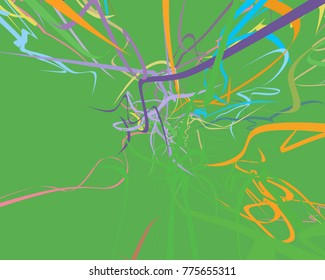 Similar images stock photos vectors of tropical flower ylangylang abstract art texture colorful texture modern artwork strokes of colors curved lines ccuart Gallery