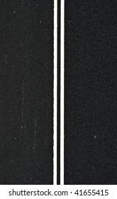 Abstract Asphalt Road Stripe