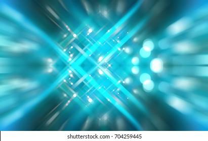 Abstract azure motion illustration background.
