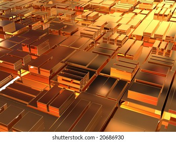 Abstract background. 3d