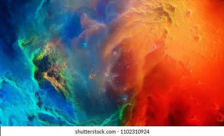 Abstract background 8-bit. 8 bit galaxy in outer space