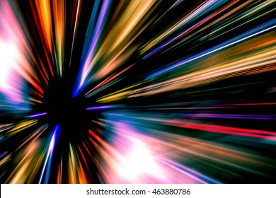Abstract background, Beautiful rays of light. Speed light concept.