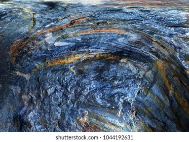 Abstract background in blue and brown tones