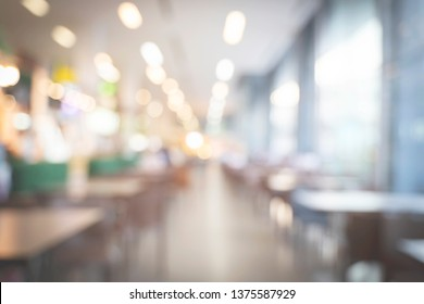 Abstract background from blurred shopping mall with light.