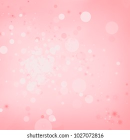 abstract background bokeh light christmas dark design with space glamour glow magic glitter and sparkle illustration