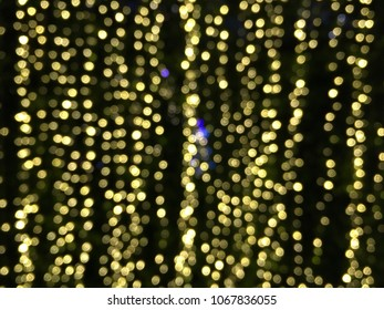 abstract background bokeh of light in night city