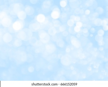 abstract background with bokeh and sweet blue color