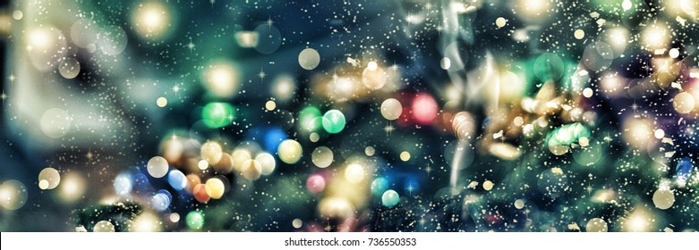 Abstract background. Christmas background, Christmas. Magical fairy background. Bokeh,  blur,  blurred/