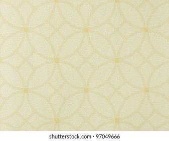 Abstract background with circle in beige and gold
