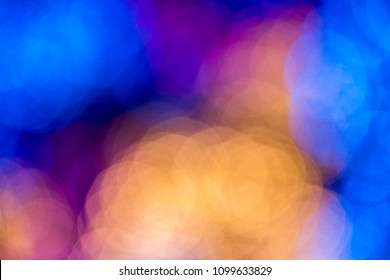 abstract background circle lights bokeh, Colorfull Blurred abstr